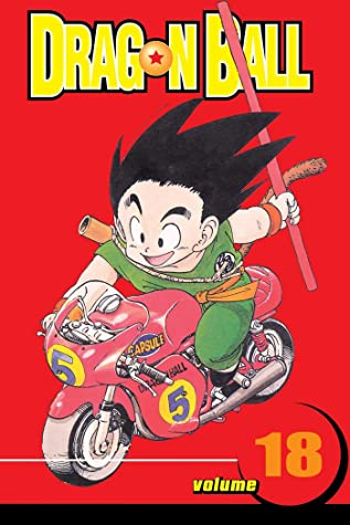 Best action manga Of Year: Dragon Ball Volume 18