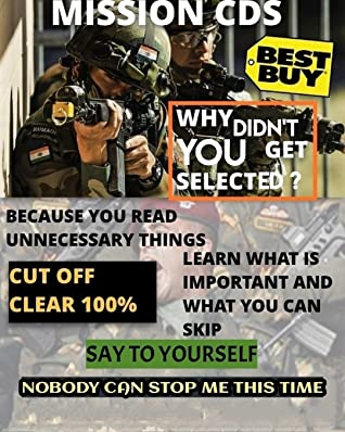 CDS Cut-off clear GUARANTEED.: Why didn't you clear cut-off ? because you wasted time reading concepts which are even not important. This book will tell you what to do.
