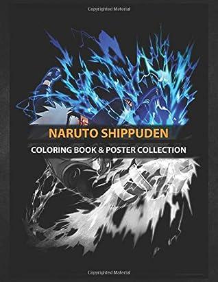 Coloring Book & Poster Collection: Naruto Shippuden Kakashi Naruto Anime Kakashi Kakashi Face Kakashi Anbu Anime & Manga