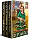 Mail Order Vows of Love: A Historical Western Romance Collection