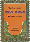 The Observance of al-Mawlid an-Nabawi and Other Birthdays