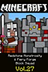 Redstone Monstrosity & Fiery Forge | Block Squad: Minecraft funny story comics
