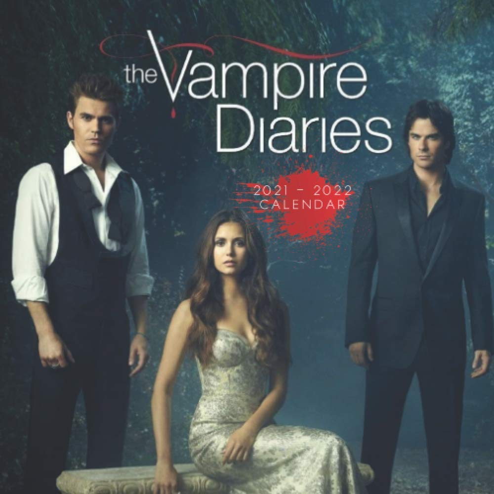 Amazing Calendar 2022.The Vampire Diaries Amazing 18 Month Calendar 2021 2022 With Size 7 X7 By Movie Calendar