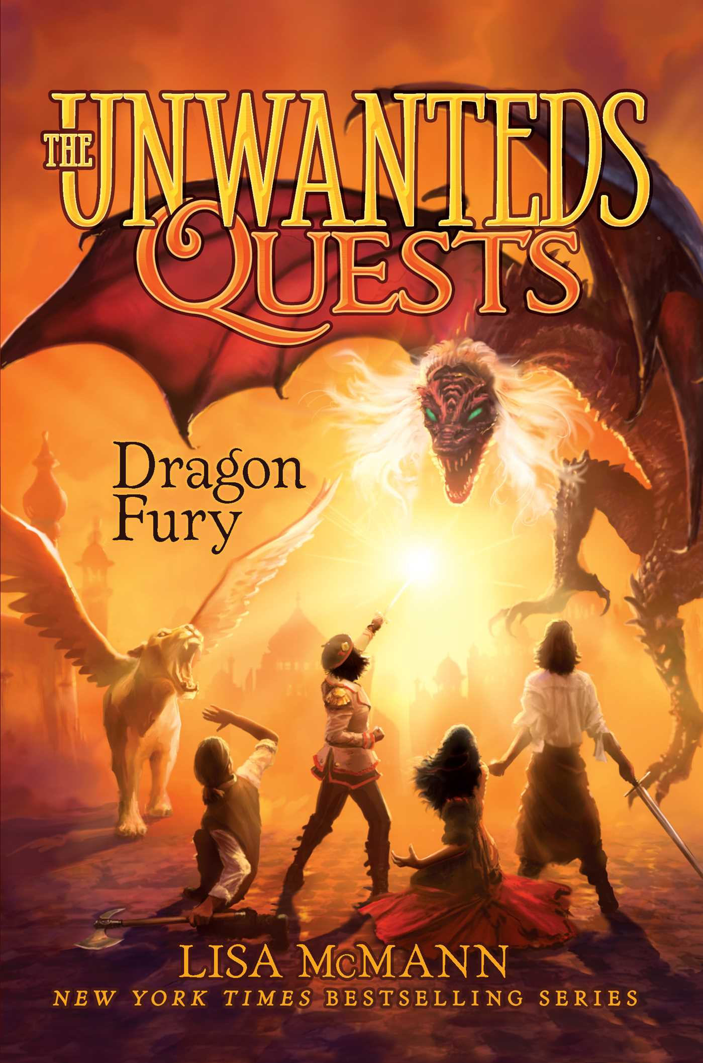 Dragon Fury  (The Unwanteds Quests, #7)