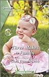 Three Makes a Family: A Clean Romance
