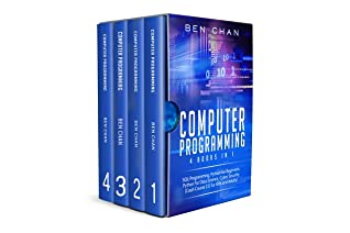 Computer Programming: 4 Books in 1: SQL Programming, Python for Beginners, Python for Data Science, Cyber Security (Crash Course 2.0 for Kids and Adults)