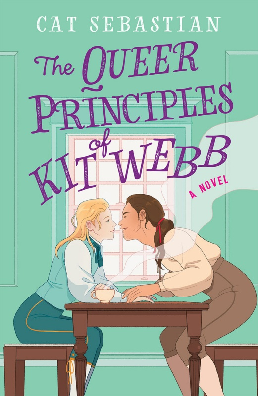 Book cover for The Queer Principles of Kit Webb