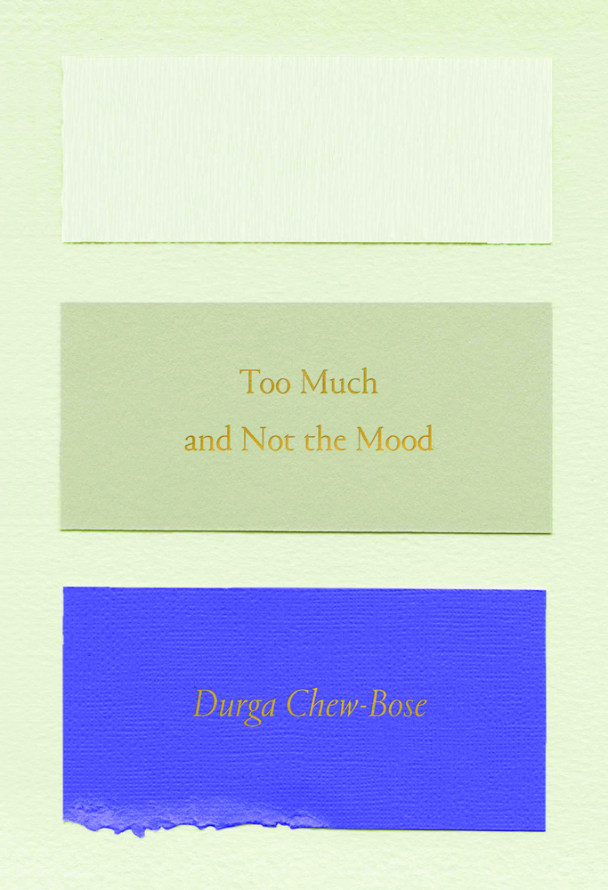 Too Much and Not the Mood: Essays Durga Chew-Bose
