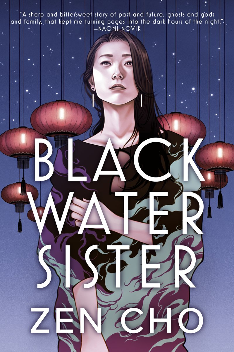 Picture of the cover for Black Water Sister by Zen Cho