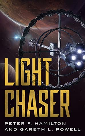 book cover for Light Chaser by Peter F. Hamilton