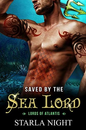 Saved by the Sea Lord (Lords of Atlantis, #9)
