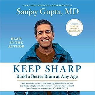 Keep Sharp Audiobook Sanjay Gupta (by Sanjay Gupta Keep Sharp Audio CD)
