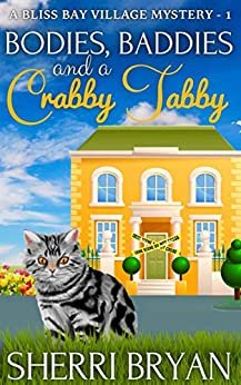 Bodies, Baddies, and a Crabby Tabby (A Bliss Bay Village Mystery Book 1)