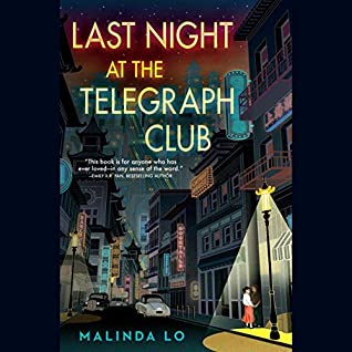 Audiobook cover for Last Night at the Telegraph Club