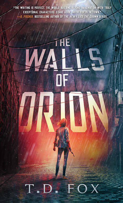 The Walls of Orion (The Walls of Orion duology, #1)