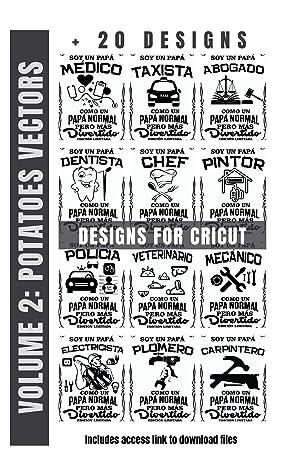 Designs for Cricut (Volume 2): SVG files for Cricut in Ebook format (includes SVG download link)