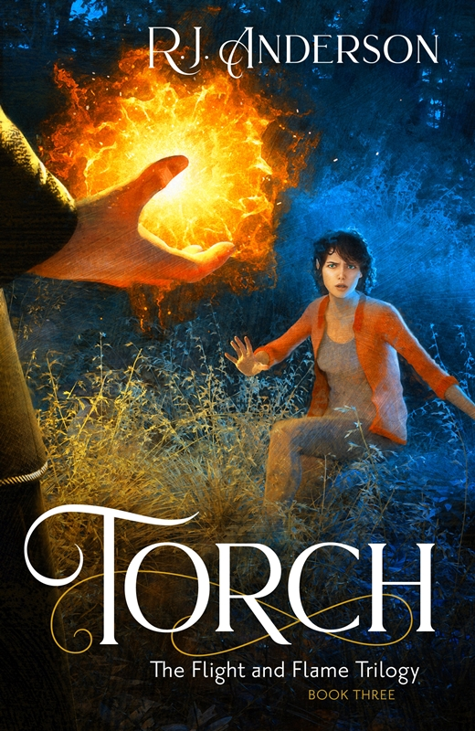 Jacket cover for Torch by R.J. Anderson