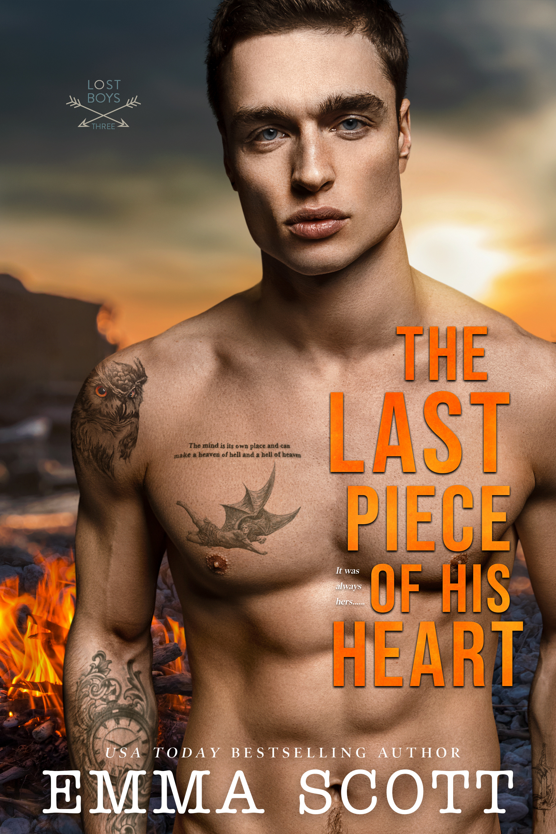 The Last Piece of His Heart (Lost Boys, #3)