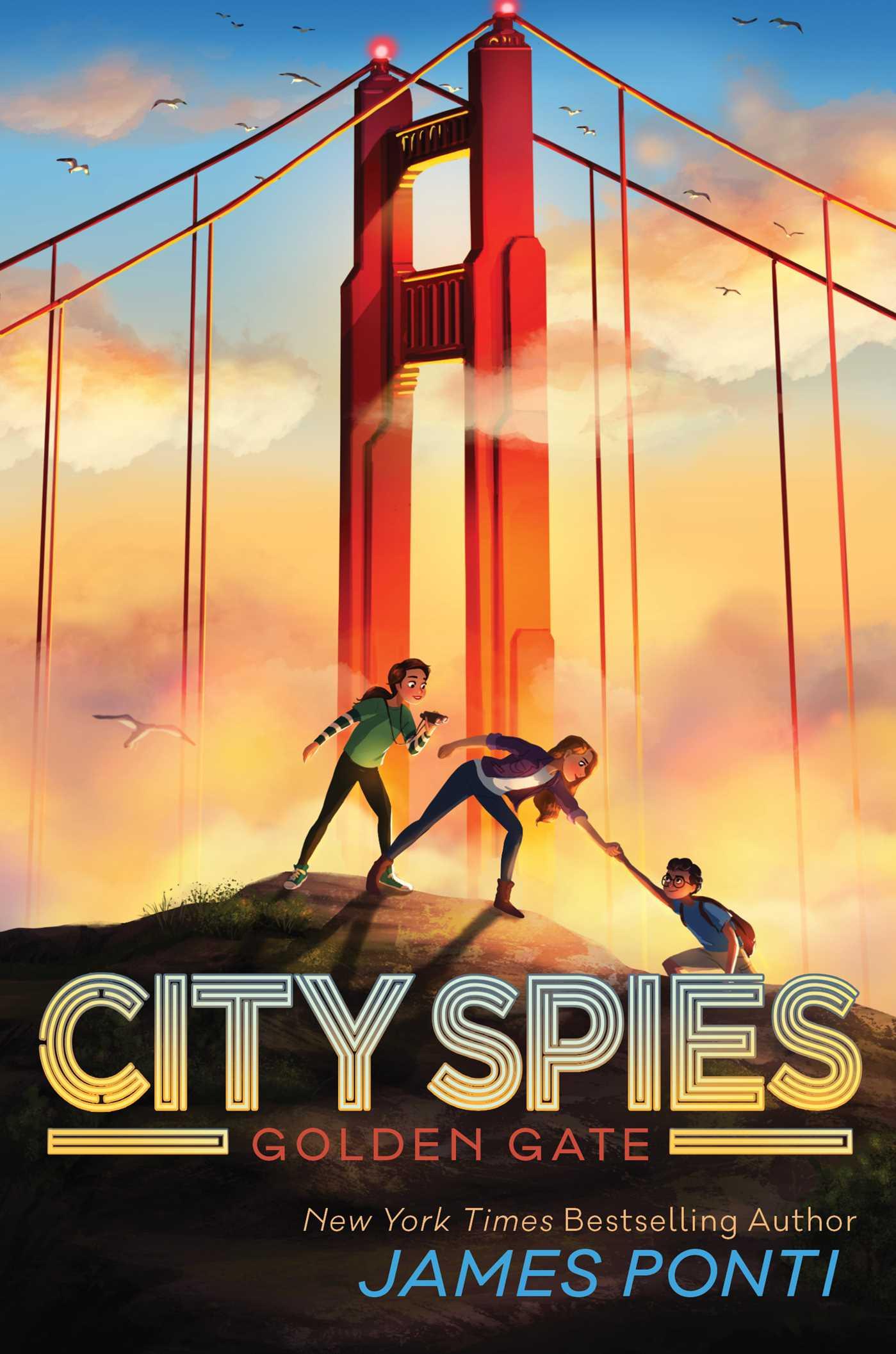 Golden Gate (City Spies, #2)
