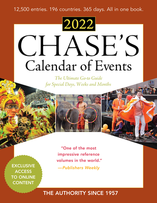 2022 Events Calendar.Chase S Calendar Of Events 2022 The Ultimate Go To Guide For Special Days Weeks And Months By Editors Of Chase S
