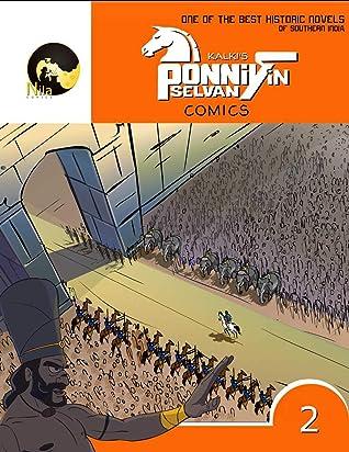 Kalki's Ponniyin Selvan Comics - Volume 2 (in ENGLISH)