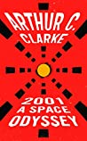 Book cover for 2001: A Space Odyssey (Space Odyssey #1)