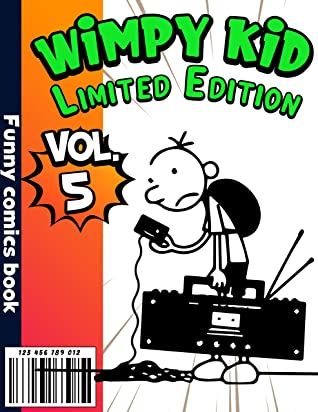 Funny comics book Wimpy kid Limited Edition: Funny Wimpy kid Completed Series Volume 5