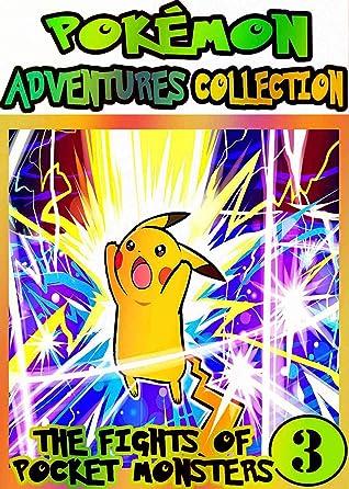 Pocket Adventure: Collection Pack 3 - Pocket Monsters Manga Adventures Pokemon Graphic Novel For Kids, Children