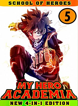 My Hero Academia School: Book 5 Collection - Manga My Hero Academia Action Shonen Adventure Fantasy