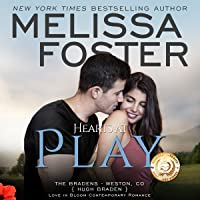 Hearts at Play Audiobook (The Bradens at Weston, CO #6; The Bradens #6; Love in Bloom #9)