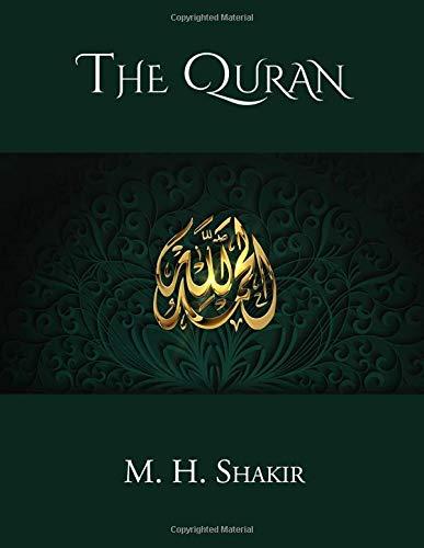 The Quran Allah, M. H. Shakir, CrossReach Publications