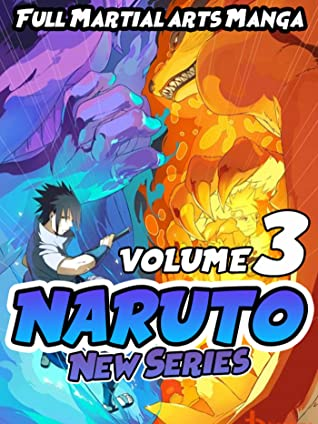 Full Martial arts Manga Naruto New Series: Full series Naruto Volume 3