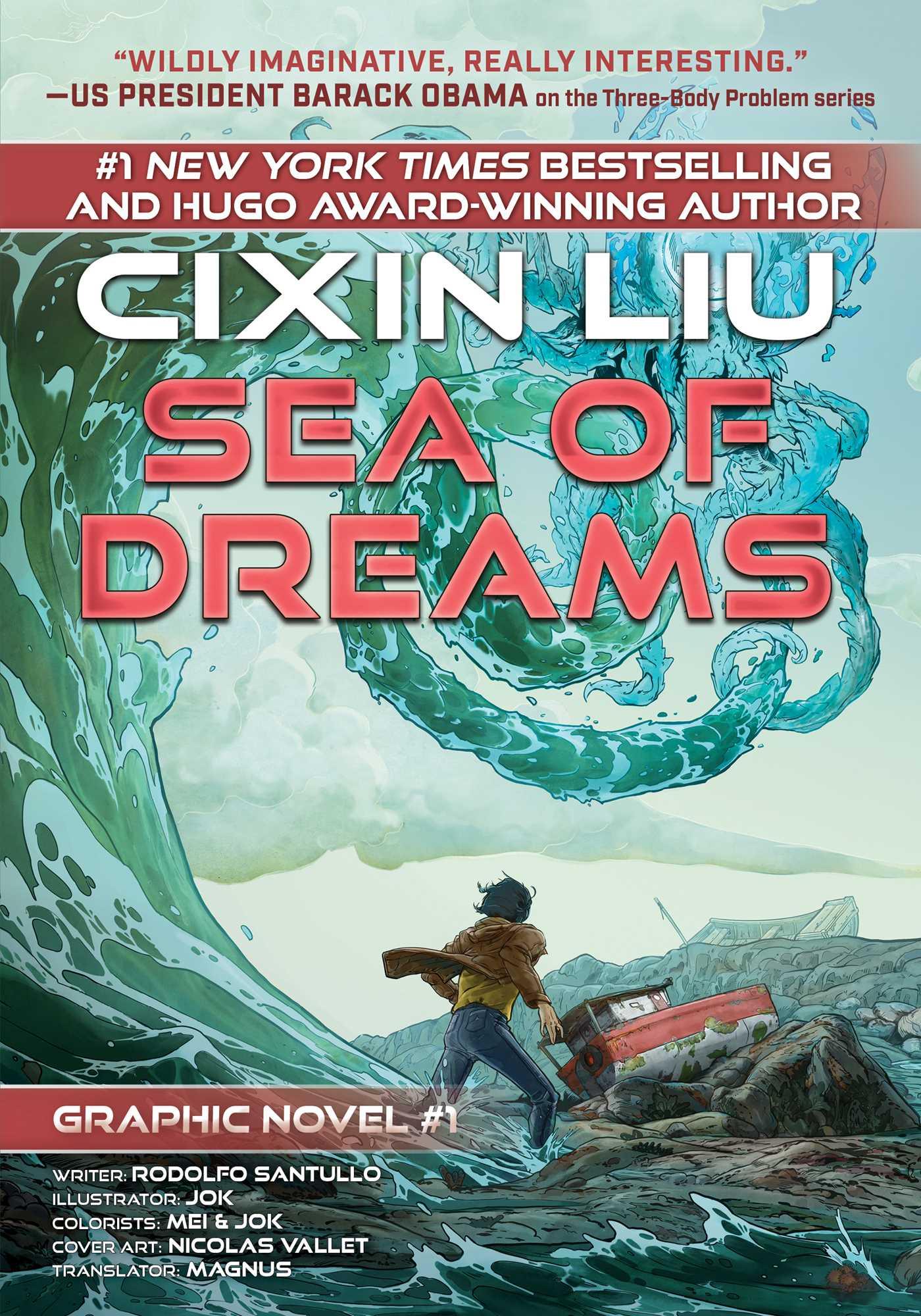 Sea of Dreams: Cixin Liu Graphic Novels #1