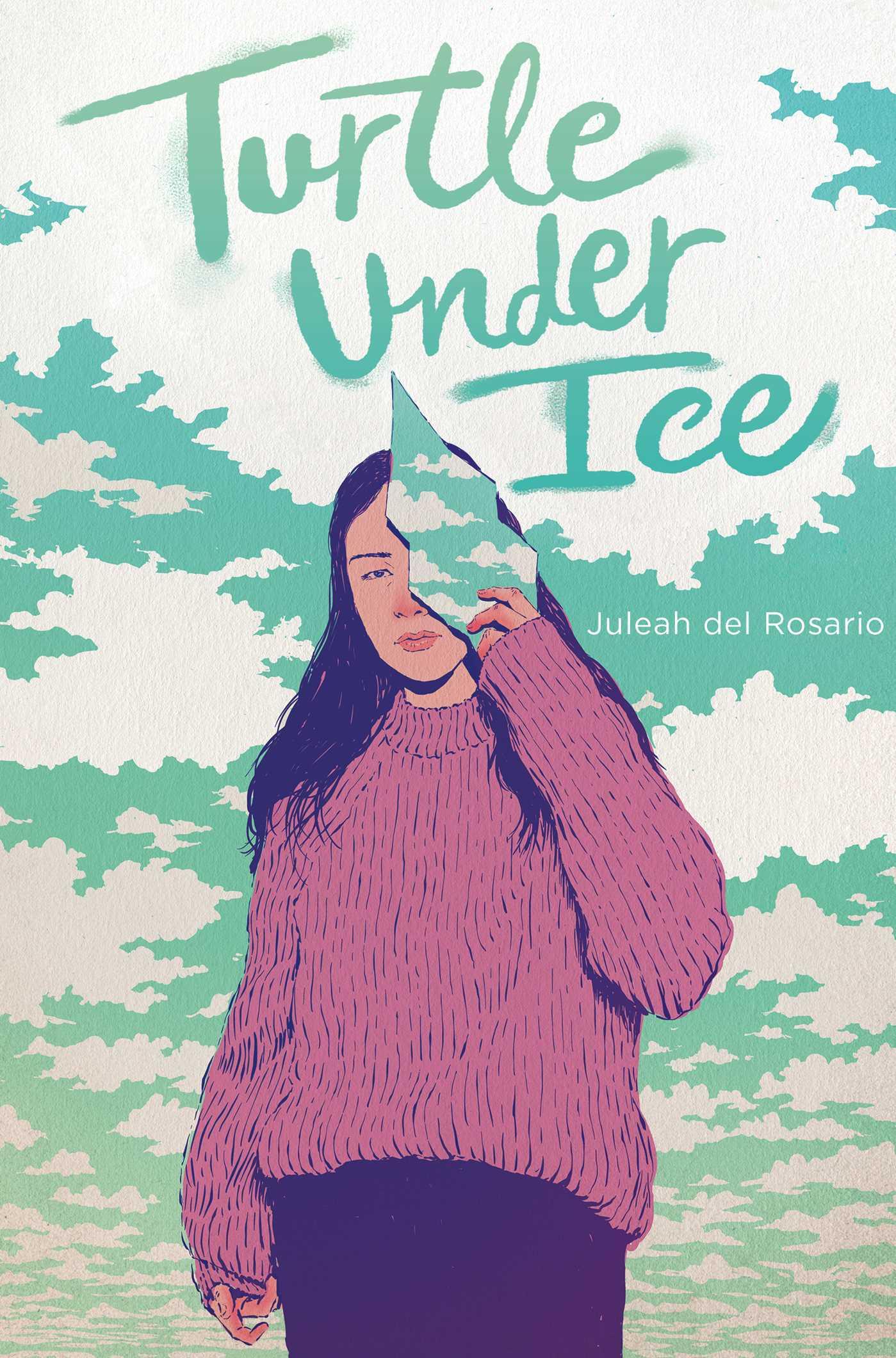 Turtle Under Ice by Juleah del Rosario