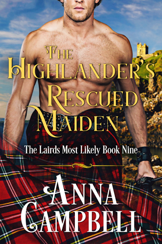 The Highlander's Rescued Maiden by Anna Campbell