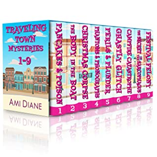 Traveling Town Funny Mysteries - Nine books