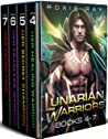 Lunarian Warriors: Books 4-7 (Lunarian Warriors #4-7)