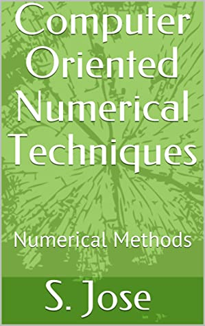 Computer Oriented Numerical Techniques: Numerical Methods
