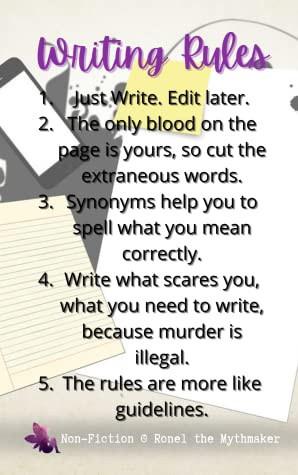 Rules Journal (Non-Fiction @ Ronel the Mythmaker, #9)