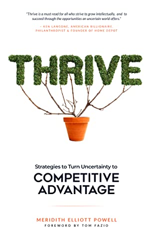 Thrive by Meridith Elliott Powell, MB...