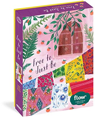 Free to Just Be 1,000-Piece Puzzle by Irene Smit