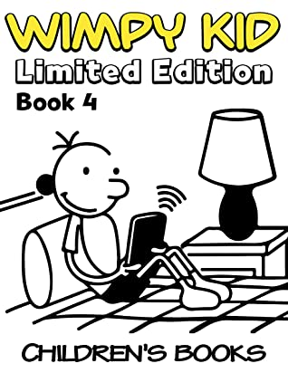 Children's books Wimpy kid Limited Edition: Funny Wimpy Kid Limited Edition Book 4