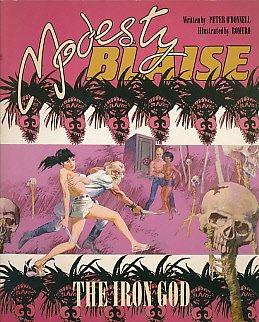 The Iron God (Modesty Blaise Graphic Novel)