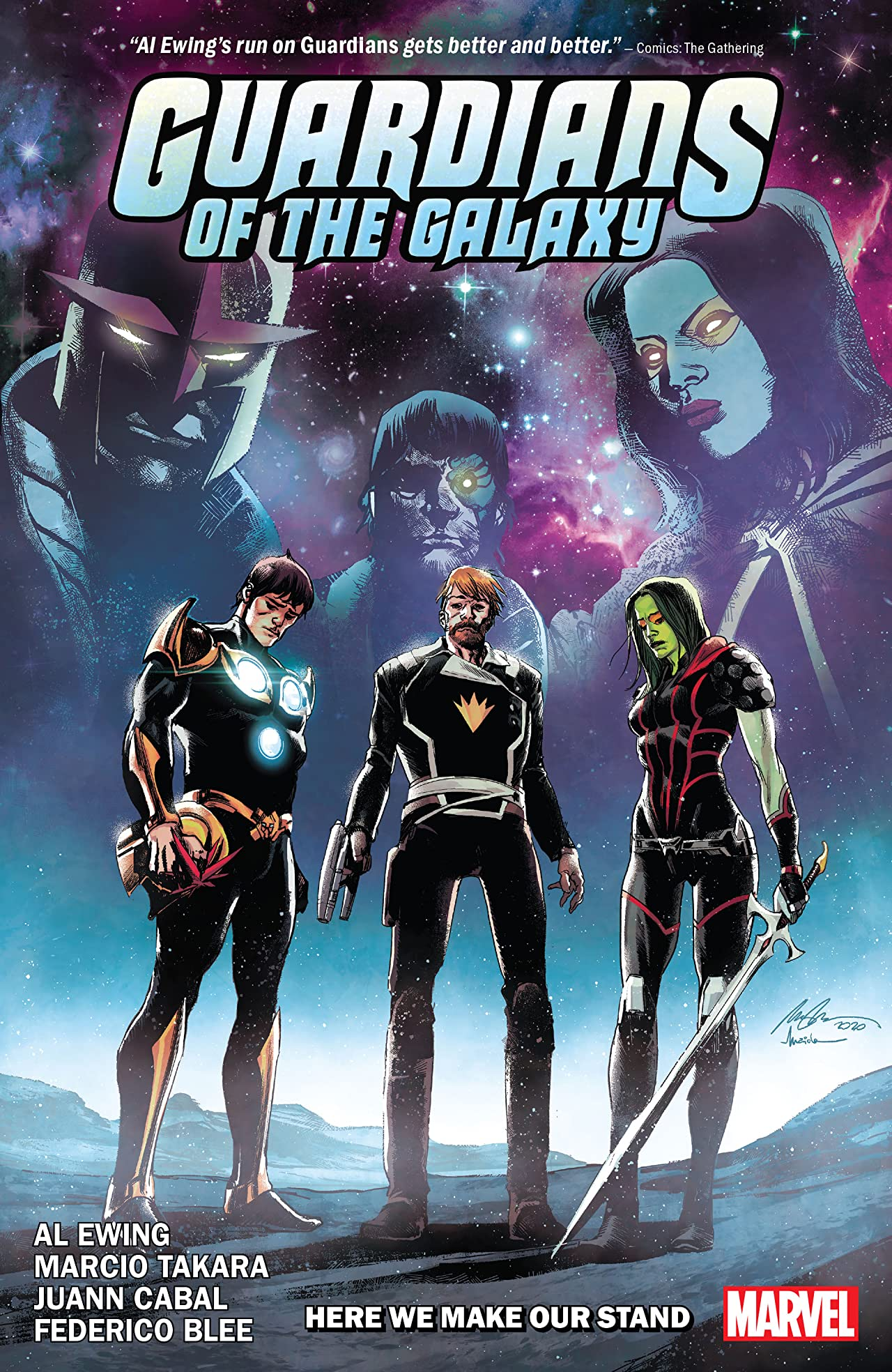 Guardians of the Galaxy by Al Ewing, Vol. 2: Here We Make Our Stand