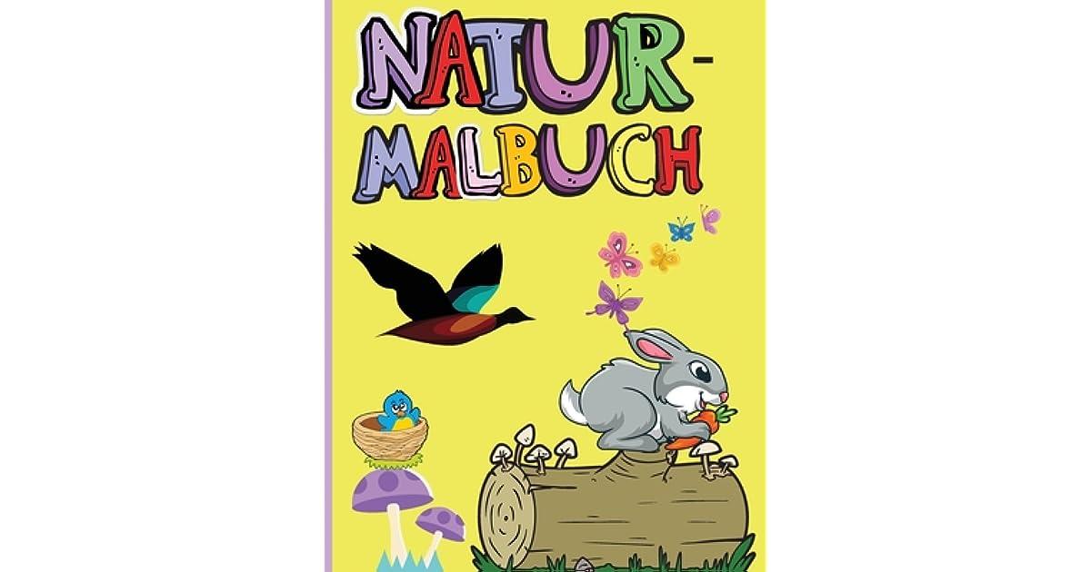 natur malbuch erstaunliche tiere v gel pflanzen und