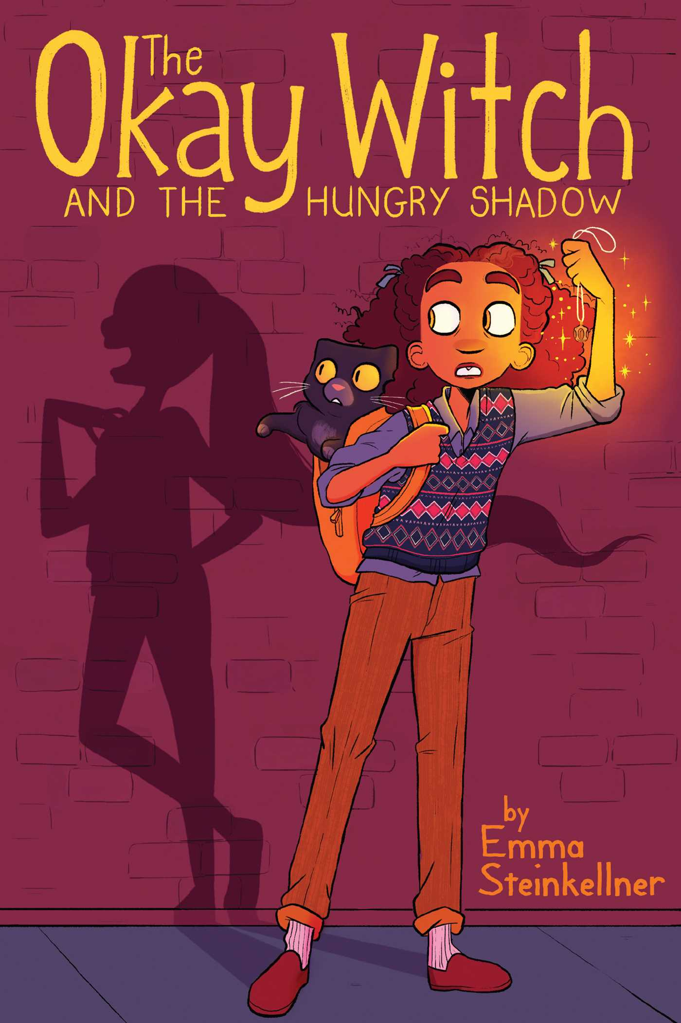 The Okay Witch and the Hungry Shadow (The Okay Witch, #2)