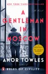 Book cover for A Gentleman in Moscow