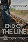 Book cover for End of the Line (Rail Riders, #1)