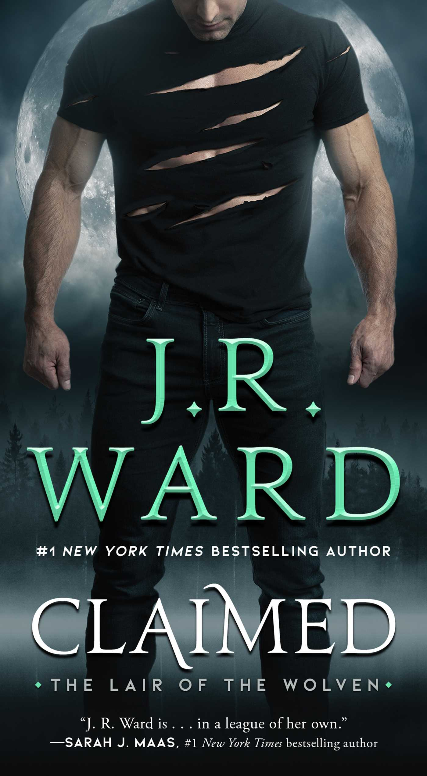 Claimed (Lair of the Wolven, #1)