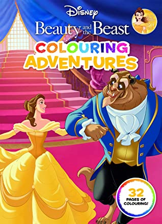 Beauty and the Beast: Colouring Adventures (Disney)